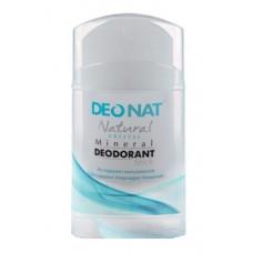 Дезодорант-стик минеральный   ЧИСТЫЙ  ЦЕЛЬНЫЙ   плоский    100 g DeoNat
