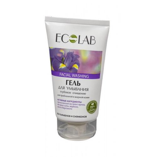 Гель для умывания  ГЛУБОКОЕ ОЧИЩЕНИЕ  для проблемной и жирной кожи  150ml EcoLab